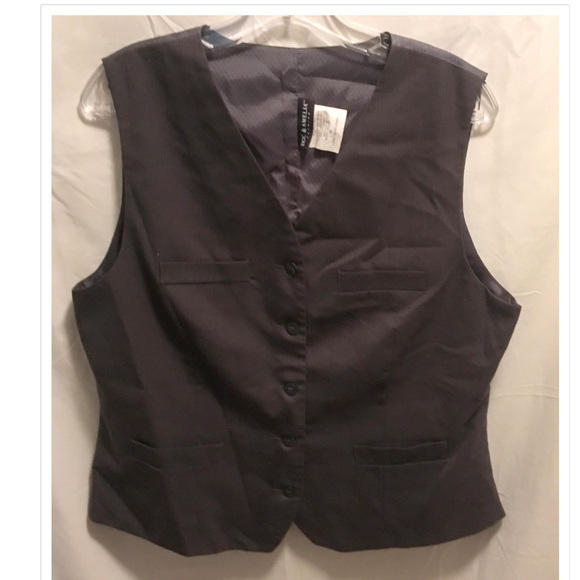 Doc & Amelia Jackets & Blazers - Size Medium Doc & Amelia Vest Gray